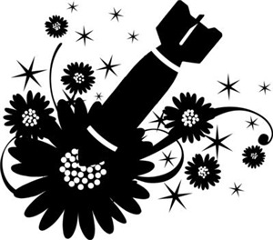 Flower Bomb Graphic