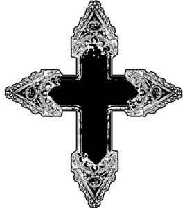 Ornate Gothic Cross
