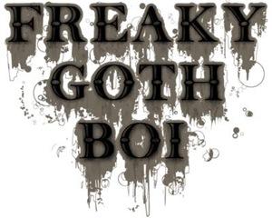 Freaky Goth Boi