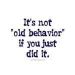 AA Old Behavior