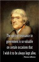 Jefferson, The Spirit of Resistance