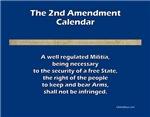 Second/2nd Amendment Wall Calendars