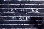 street wisdom: Legalize Chalk