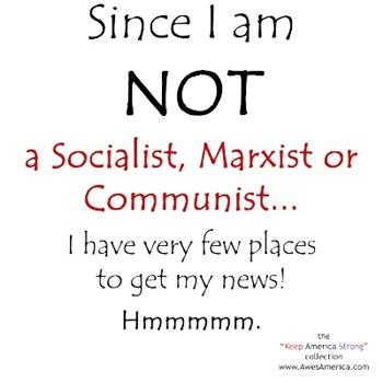 Since I am NOT a Socialist...