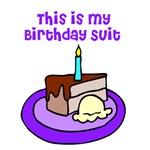 Funny Birthday Shirt - Birthday Suit