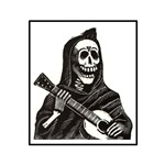 Calavera with Guitar