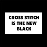 Cross Stitch is the New Black