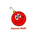 Joyeux Noel - Red Ornament