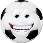 Soccer Ball 2 Smiley Face