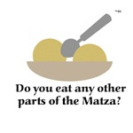 You eat what part of the matza????