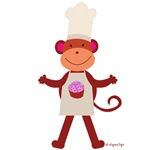 Monkey Chef Baker - Cup Cakes