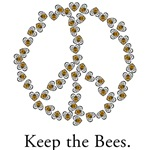 Keep the Bees (peace symbol)
