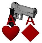 Bullets under the gun