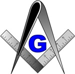 Masonic Square and Compass #20