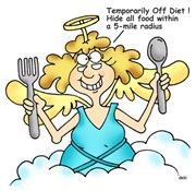 Temporarily Off Diet