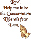 A Conservative's Prayer