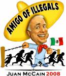 Juan McCain - Amigo of Illegals