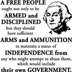 Washington Quote - A Free People