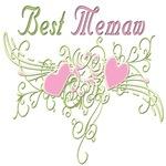 Best Memaw Hearts