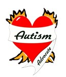 Autism Advocate Tattoo Heart