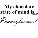 My chocolate state of mind is...Pennsylvania!