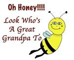 Honey Great Grandpa To Bee