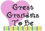 Great Grandma To Be Stripes