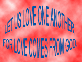 RELIGION/LET US ONE LOVE ANOTHER
