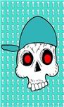 Cap Skull Illustration