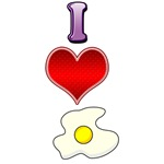 I heart eggs