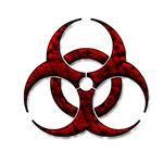 Red Bio-Hazard Design