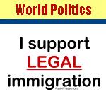 World Politics & Immigration Shirts