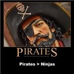 Pirates > Ninjas