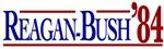 Reagan-Bush 84 Presidential Election