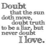 Never Doubt I Love