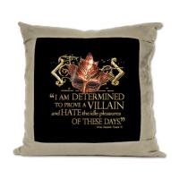 Shakespeare Suede Pillows
