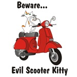 Evil Scooter Kitty Classic