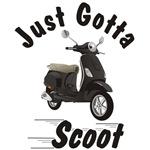 Vespa LX Black Just Gotta Scoot