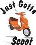 Just Gotta Scoot Orange Buddy