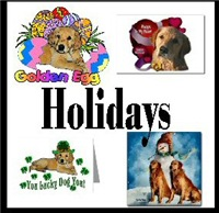 Golden Retriever Holiday Gifts