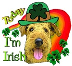 Airedale Terrier St. Patrick's Day