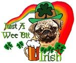 Just A Wee Bit Irish Pug