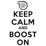 Keep Calm Boost On Design