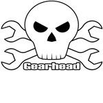 Gearhead Skull Design