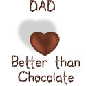 Dad - Better Than Chocolate