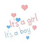It's A Boy/Girl Maternity T-shirts