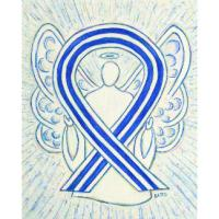 ALS Awareness Ribbon Angel