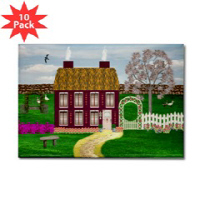 Irish Village Series© Magnets (Rectangular)