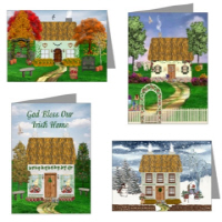 Irish Village Series© Cards & Postcards