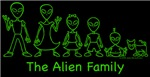 The Alien Family Text